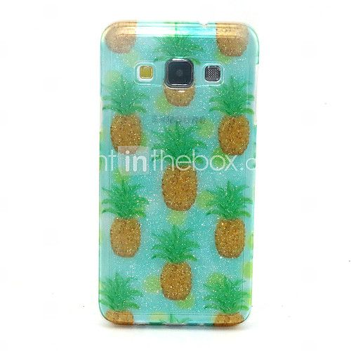 ananas patroon glitter TPU materiaal zacht telefoon geval voor Samsung Galaxy a3 a5 a7 - EUR €4.74