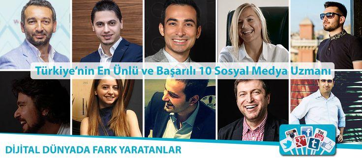 Türkiye'nin En Ünlü ve Başarılı 10 Sosyal Medya Uzmanı Ülkemizde Sosyal Medya konusunda kendini geliştirmiş, kitapları ve makaleleri olan, Sosyal Medya eğitimleri ve seminerleri veren en başarılı 10 Sosyal Medya Uzmanı http://www.sosyalmedyaegitimzirvesi.com/turkiyenin-en-unlu-ve-basarili-10-sosyal-medya-uzmani/