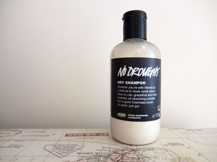 LUSH Cosmetics 'No Drought' Dry Shampoo