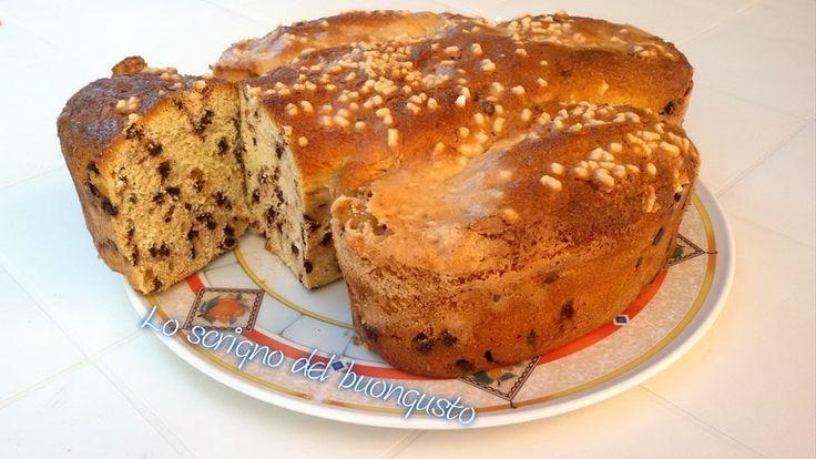 COLOMBA CON GOCCE DI CIOCCOLATO ALLA MDP                                                                   CLICCA QUI PER LA RICETTA  http://loscrignodelbuongusto.altervista.org/colomba-con-gocce-di-cioccolato-alla-mdp/ #colomba #cioccolato #Panasonic #food #Pasqua #ricette #lievitati