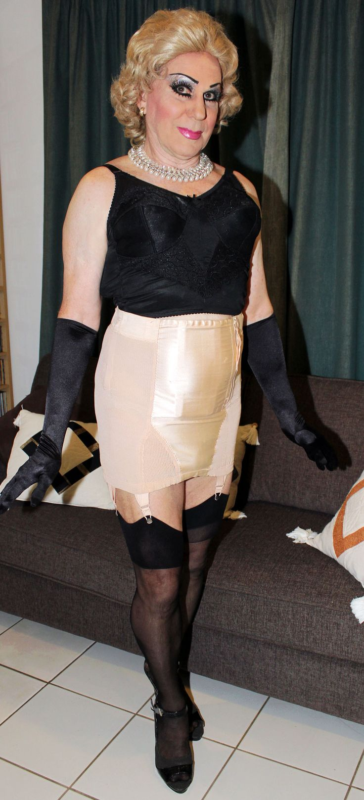 Sheer to waist pantyhose tgp