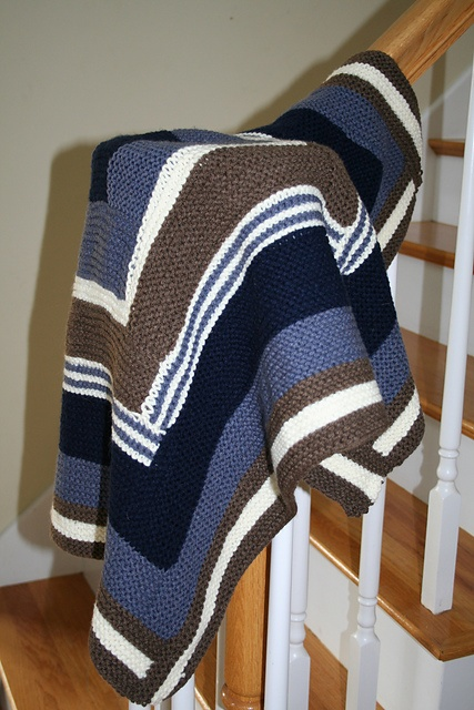 Ridiculously time consuming log cabin blanket.