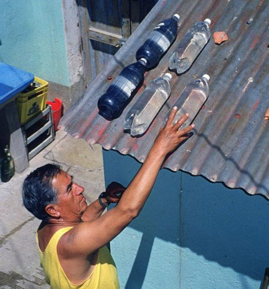 #Prepper - solar water disinfection