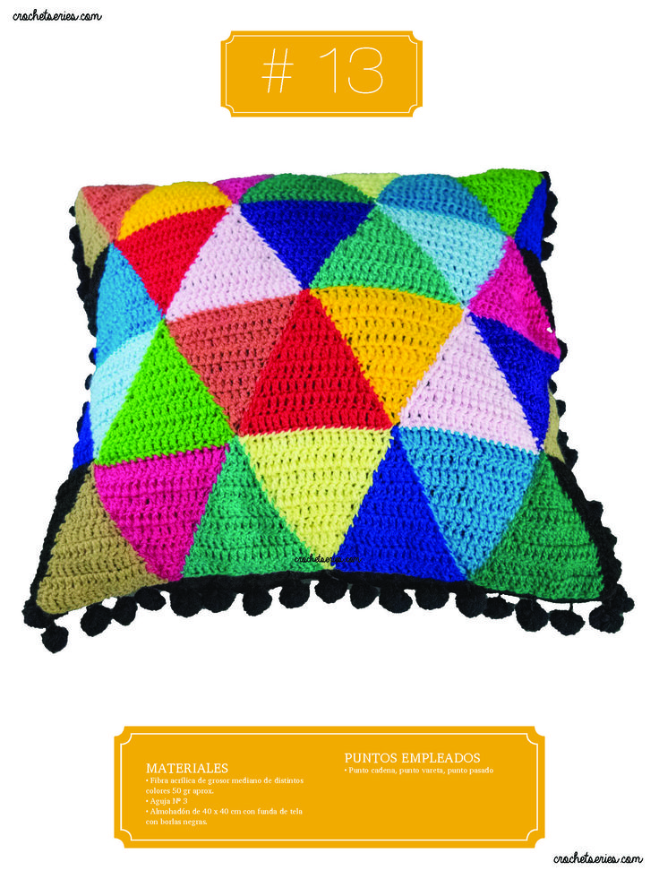 Crochet Almohadones #13
