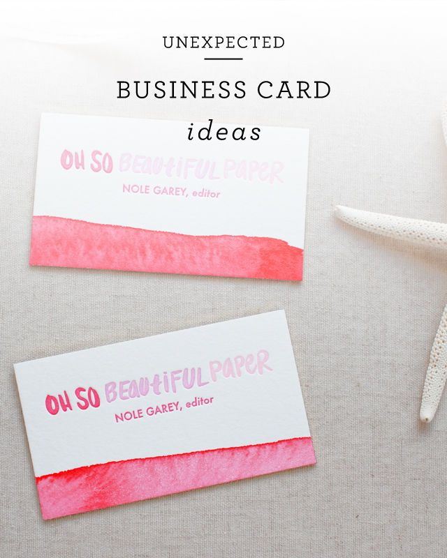 336 best Business Cards images on Pinterest | Business card design ...