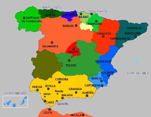 Una guía sobre las ciudades de España, regiones, islas, cultura, etc.