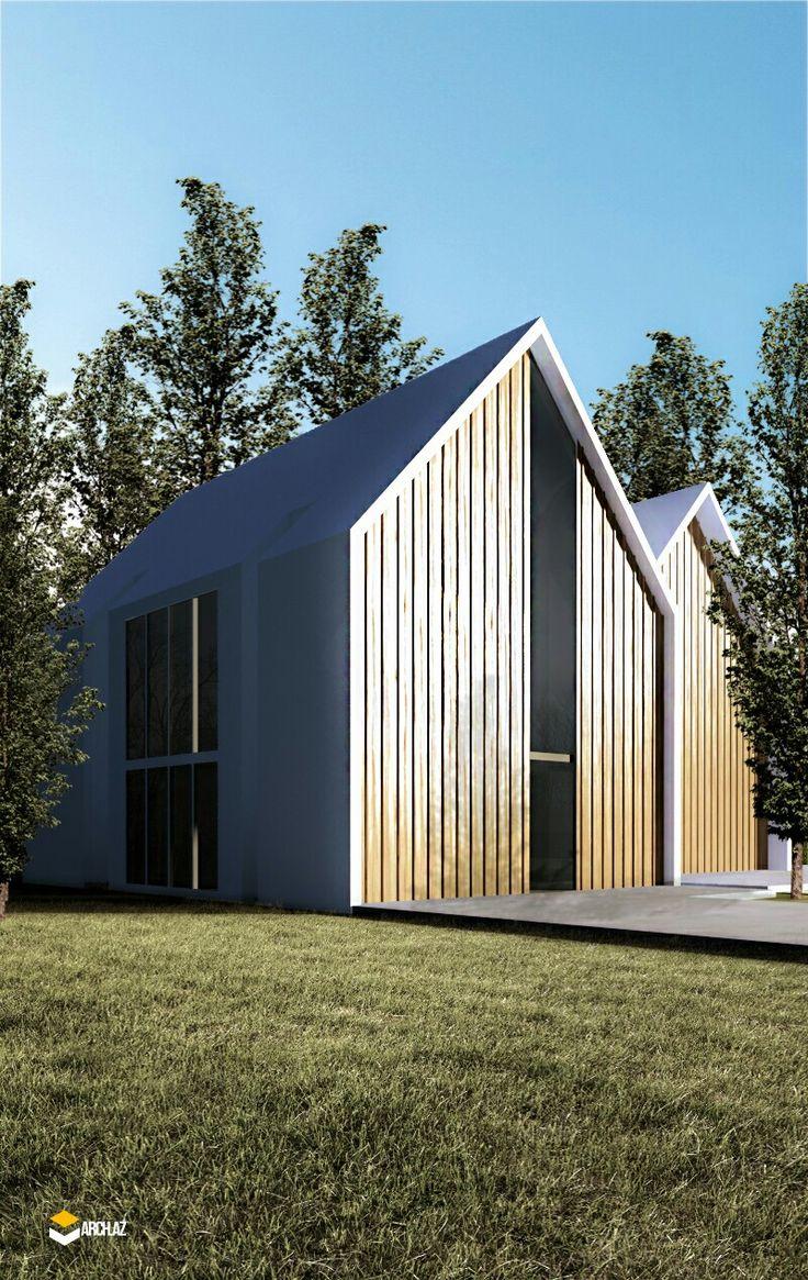 FAR House Design. Combined Fasade