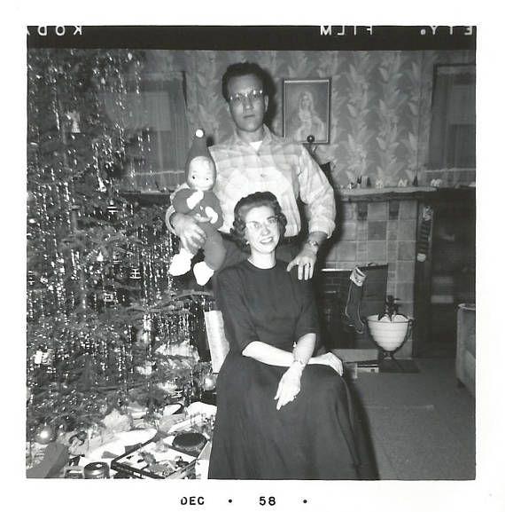 Vintage Snapshot An Elf Doll For Christmas Film