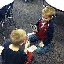 Mrs. Brown's Kindergarten Blog: Daily Five Math