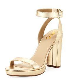 dbb5b4bc259 Shop Annette High Chunky-Heel Sandal from CIRCUS BY SAM EDELMAN at Neiman  Marcus Last Call, where you'll save as much as 65% on designer fashions.