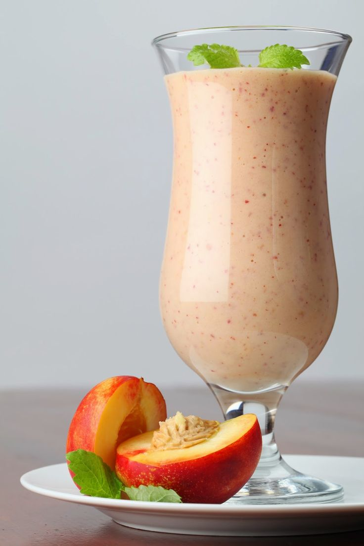 Nectarine Passion Smoothie For Stress, Skin & Eye Health