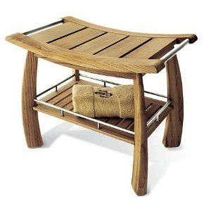 Teak Shower Benches for your Bathroom. Owning Teak shower stool is a lifetime commitment.