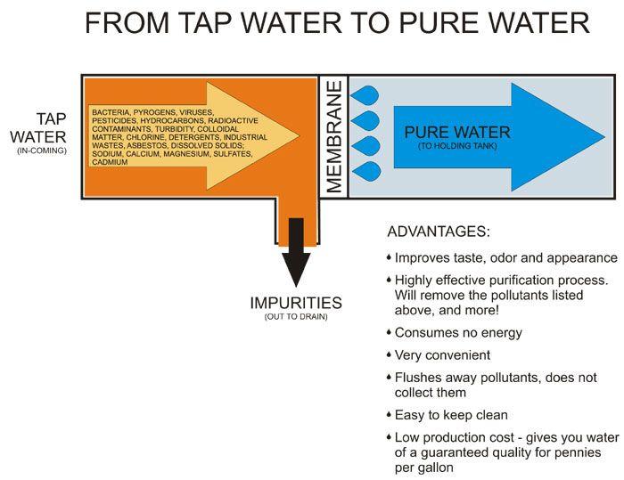 Reverse Osmosis for your drinking water http://thetashmans.files.wordpress.com/2010/09/how_reverse_osmosis_filtrat.jpg