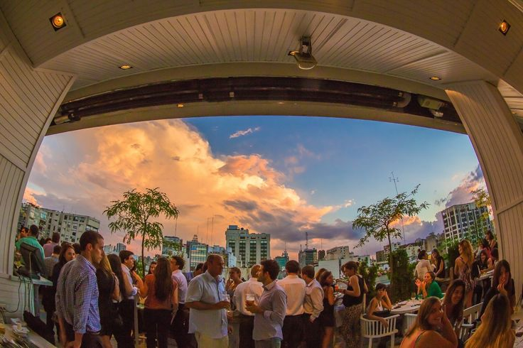 Rarely out of #BuenosAires' best bars lists, #SkyBar is a bastion of nightlife in the city.