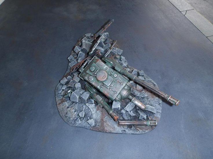 Warhammer 40k urban terrain ruin