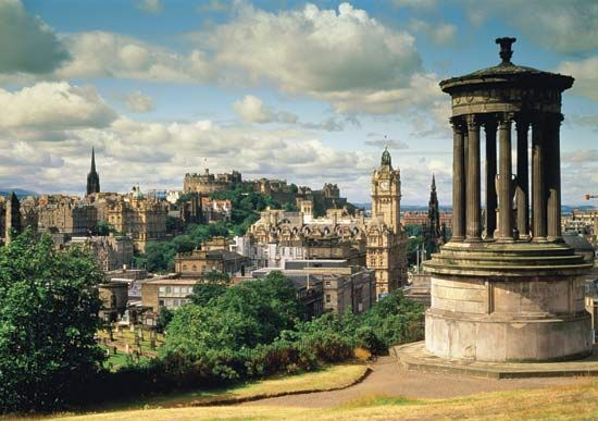 Edinburgh. A great city, and also where a great friend lives.
