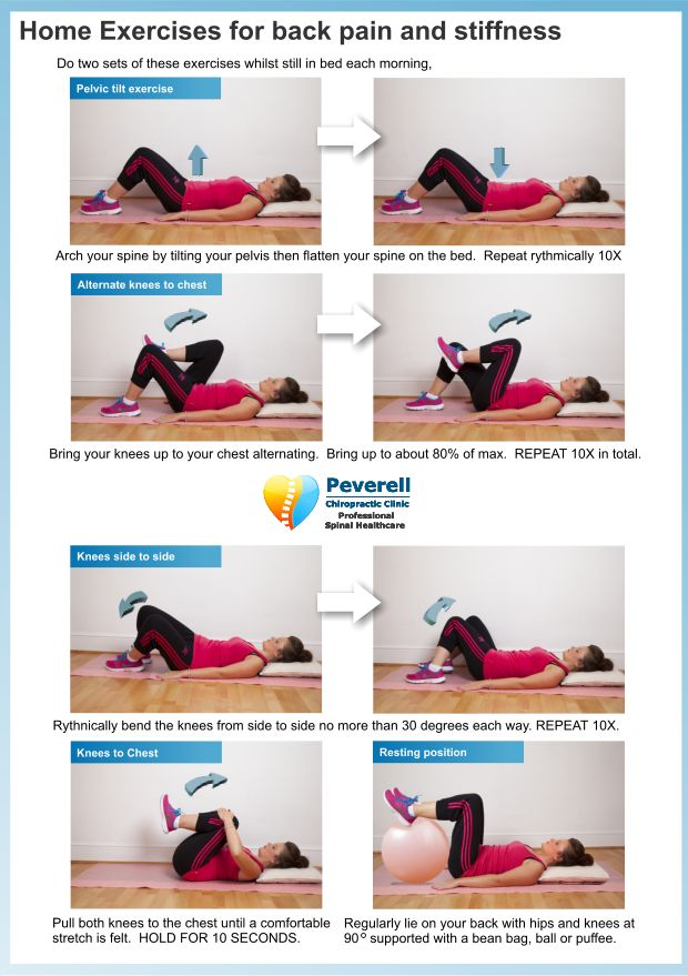 1000 Images About Low Back Exercises On Pinterest Back