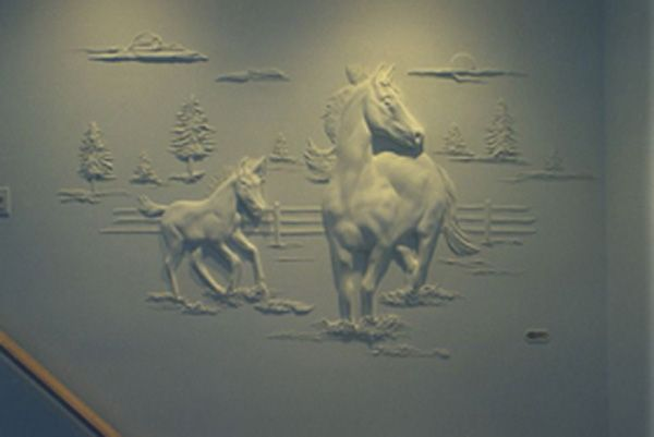 1000+ images about drywall art on Pinterest | Drywall, Wall sculptures ...