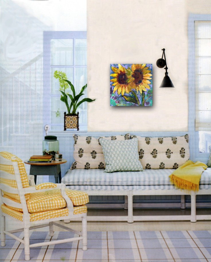 137 Best Images About Sunflower Living Room On Pinterest