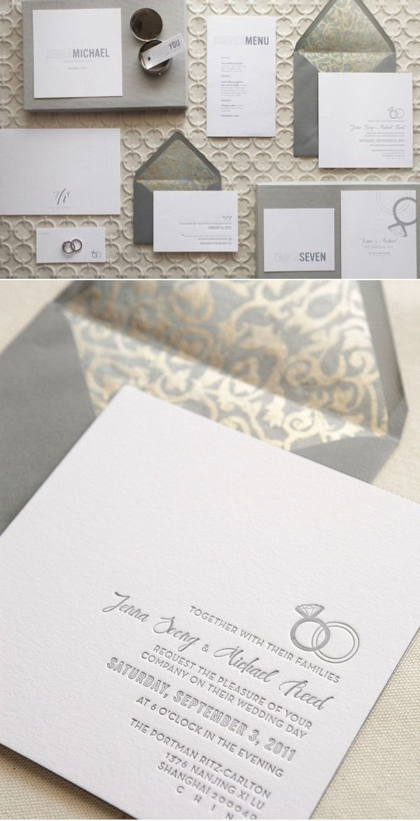 love these wedding invitations and everything that goes with them!