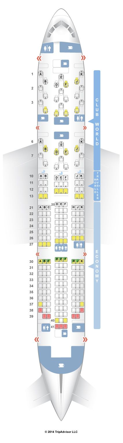 SeatGuru Seat Map British Airways Boeing 787-8 (788) - SeatGuru