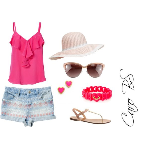 """""""Playa rosa"""" by carobs on Polyvore"""