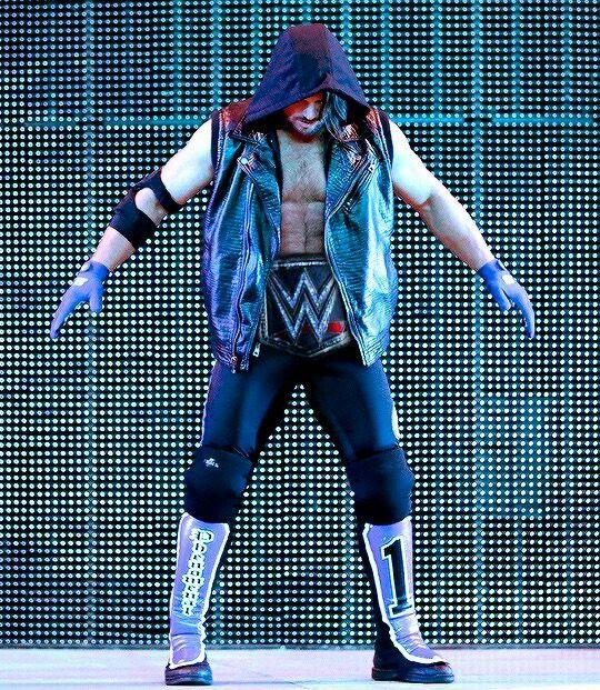 AJ Styles WWE Champion