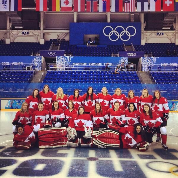 GOLDEN GIRLS AGAIN!! Way to go Team Canada - that's how we do it!! #sochi #olympics