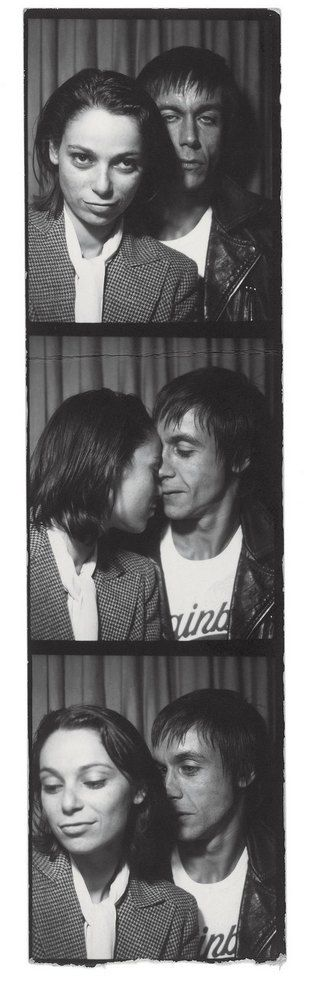 vintage everyday: Rare and Amazing Photographs of Iggy Pop Taken by His Girlfriend Esther Friedman from 1976 - 1982