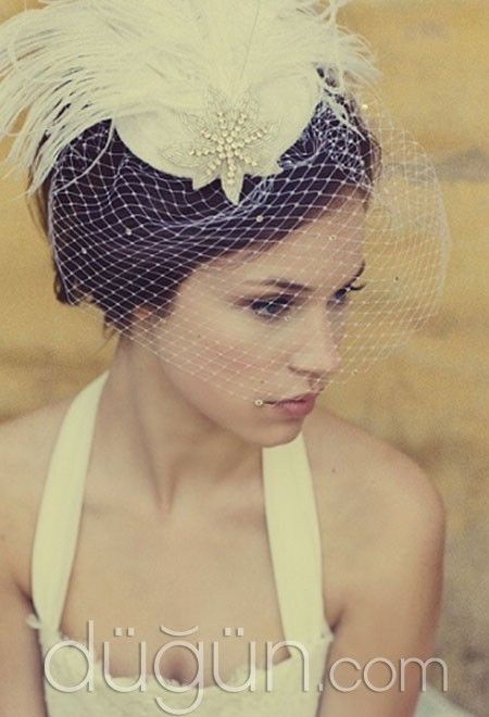 Wedding  Short Hairstyles / Kısa Gelin Saçları, #gelin #gelinlik #düğün #bride #wedding #gelinlik #weddingdresses #weddinggown #bridalgown #marriage #weddinghair, #hairstyles #www.gun-ay.com