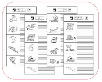 TaalSchrijven - Schrijf wat je hoort - Kern 1