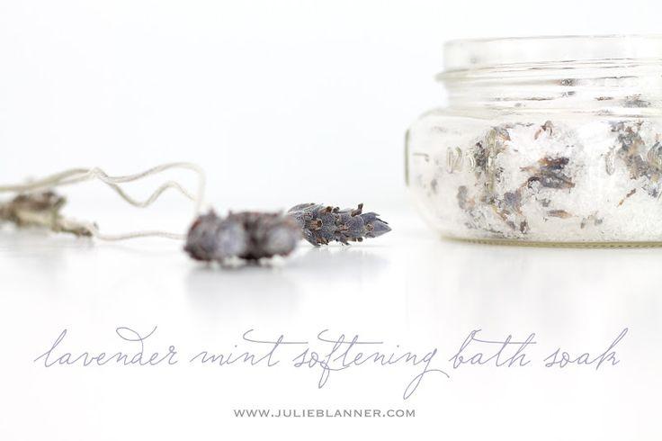 How T0: DIY Lavender Mint Bath Salts (Sea Salt & Epson Salt Mix)