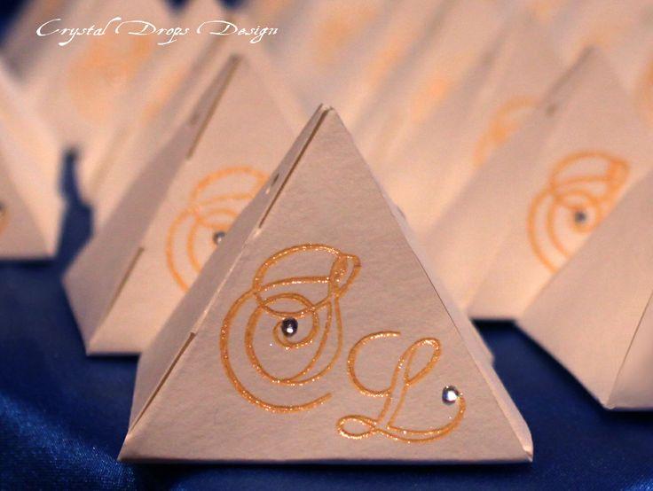 Piramyd box portaconfetti