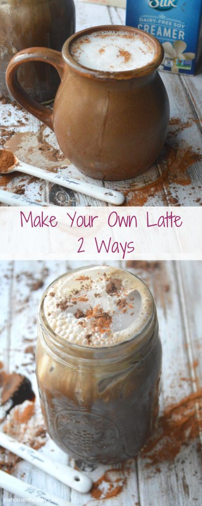 2 Ways to Make Your Own Soy Milk Latte - The House of Healthy  Make a healthier latte featuring #silk soy milk.  http://thehouseofhealthy.com/2017/01/30/make-your-own-soy-latte/  ##SameSilkySmoothTaste #silk #latte #vegan #glutenfree #newyearnewyou #healthcoach #IINhealthcoach #ad