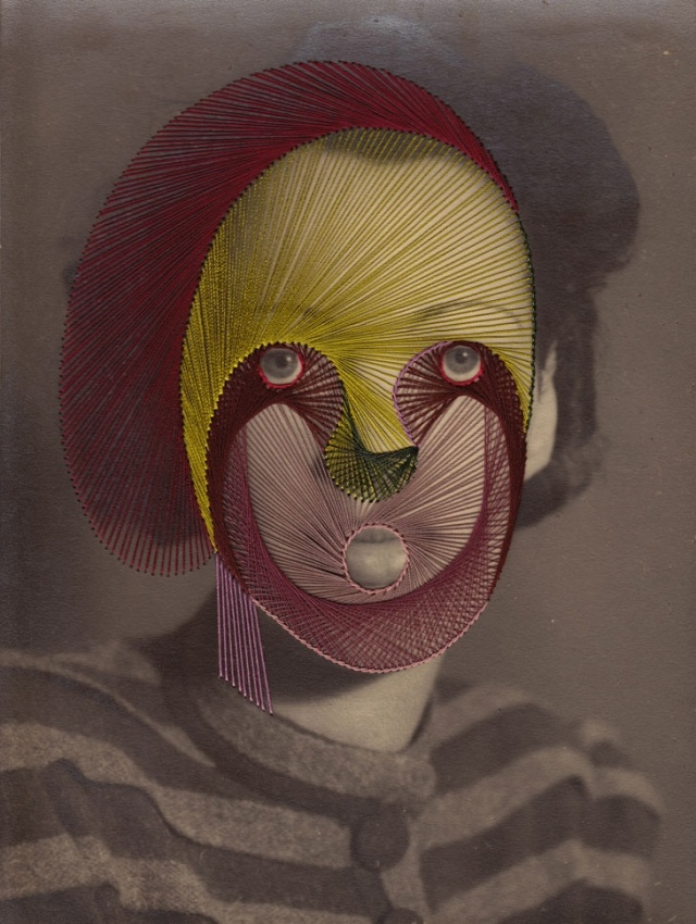 Embroidery Photographs by Maurizio Anzeri