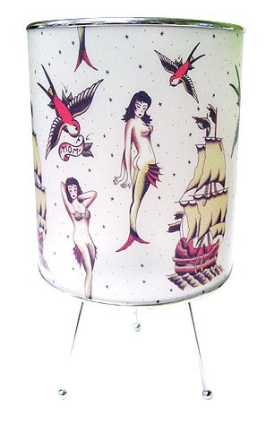 Sailor Flash Tattoo Lamp
