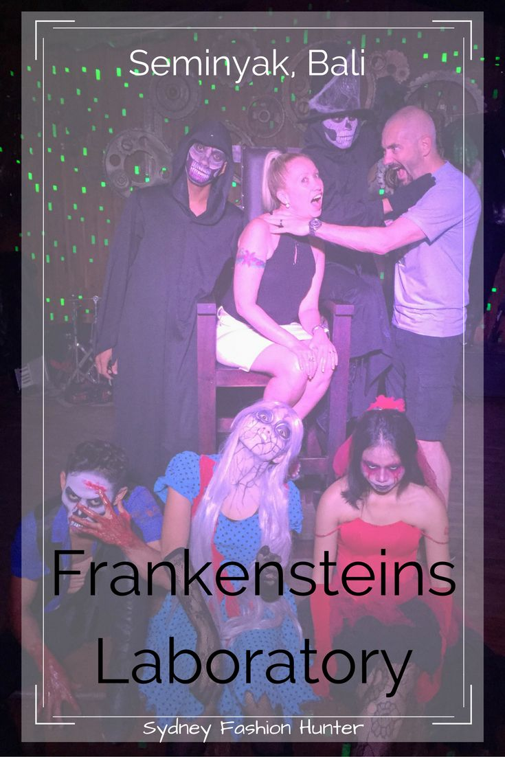 Frankensteins Laboratory is a great night out in Seminyak Bali. Get your freak on and read all about it here ...