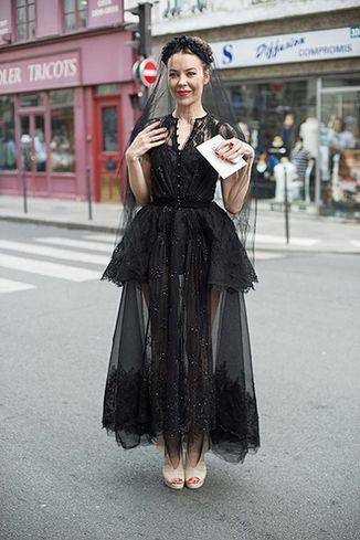 Ulyana Sergeenko - http://fashionedinlondon.wordpress.com/2012/07/05/the-russians-hit-paris/