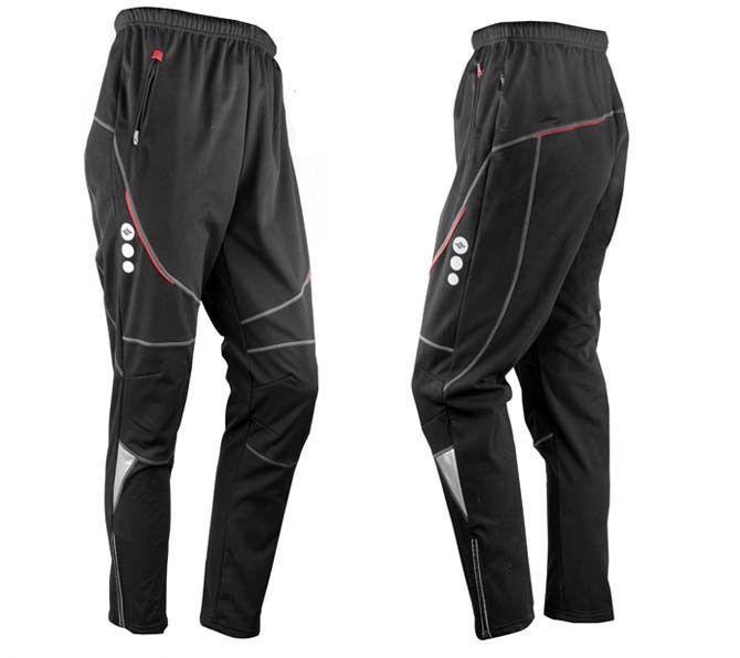 New Men Thermal Winter Cycling Waterproof Pants Bike/Bicycle Windproof Trousers