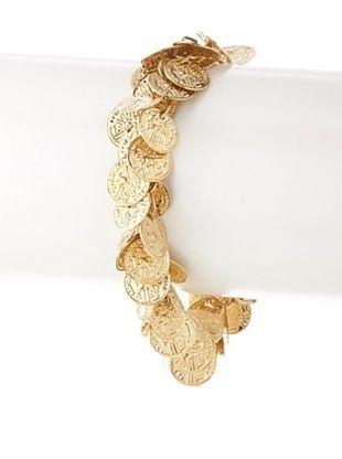 65% OFF Cristina V. Gypsy Coin Bracelet