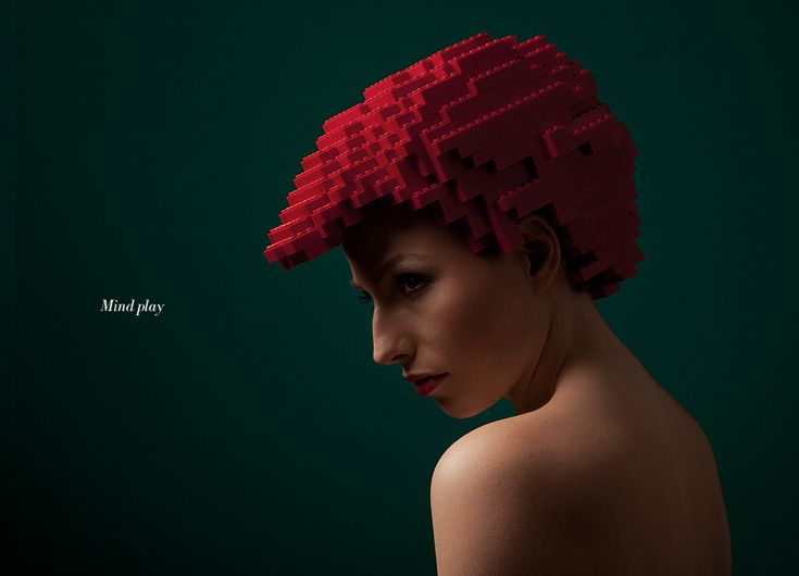 http://www.feeldesain.com/lego-wigs-hairdos-with-unlimited-creativity.html #hair #fashion #lego: Hairstyles, Mind Plays, Red Hair, Brick, Ads Campaigns, Elroy Klee, Lego Wigs, Design Studios, Dutch Design