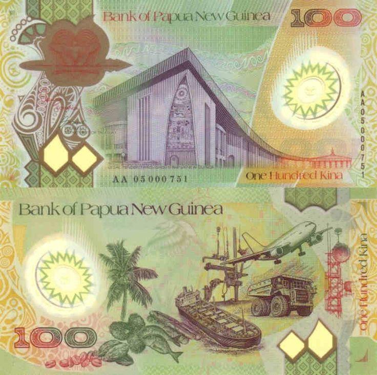 Papua New Guinea, 100 Kina: