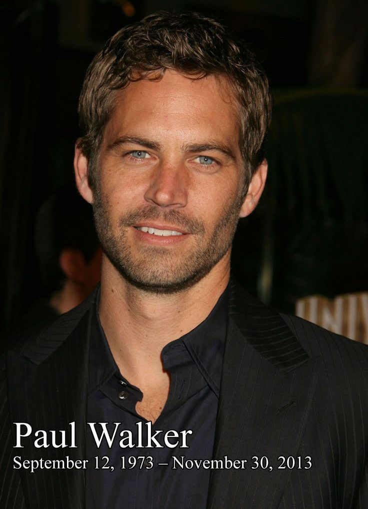 Paul Walker has died in a car crash at the age of 40