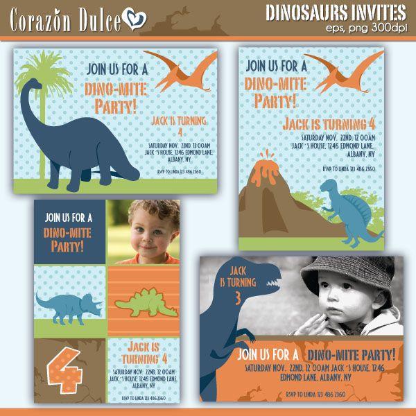 10 best Dinosaurs Theme images on Pinterest Dinosaurs, Dinosaur - best of sample invitation to birthday party
