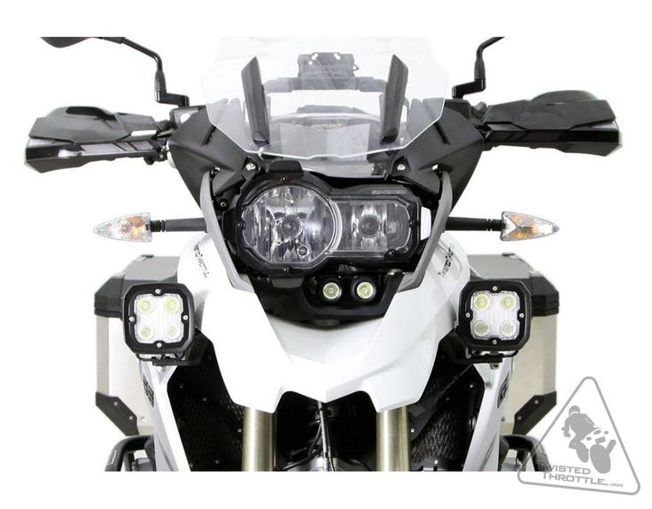 Denali Auxiliary Light Mounting Bracket for BMW R1200GS LC '13-'16   TwistedThrottle.com