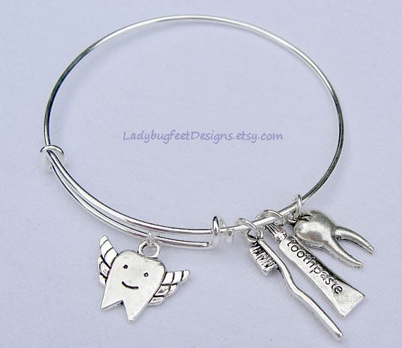 This is the perfect bracelet for the dental professional in your life!