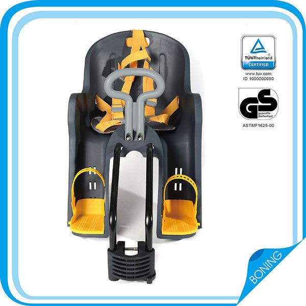 Custom Design EN Bicycle Front Seats/Rack Plastic/Toddler Carrier BN-10,Comfortable Baby Road Bike Seats/Saddles for Twins