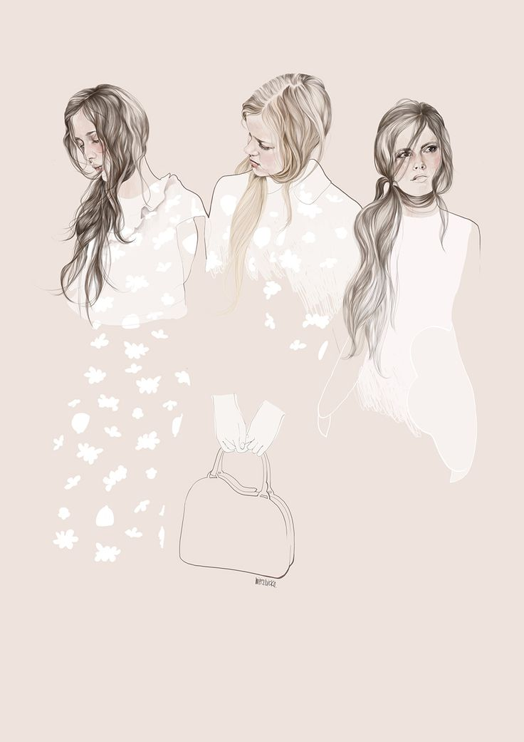 Fashion illustration, Simone Rocha