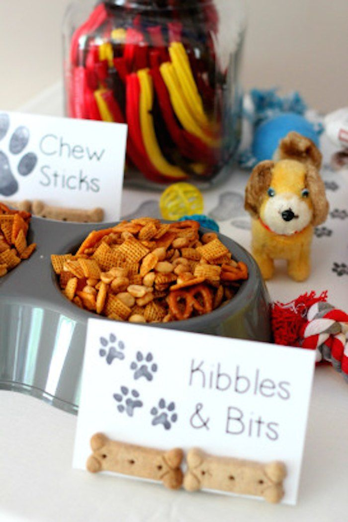 Puppy + Kitten themed birthday party via Kara's Party Ideas KarasPartyIdeas.com Cake, decor, tutorials, favors, cupcakes, games, etc! #puppy...