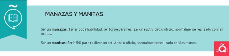 Manazas vs Manitas #EnjoySpanish #Spanish #dQcom